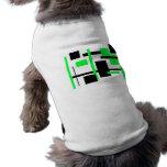 Modelo rectangular 54 camisetas de perro