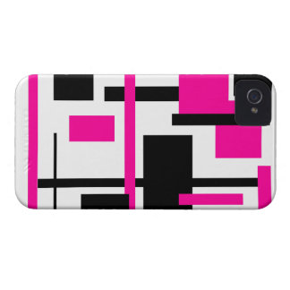 Modelo rectangular 57 iPhone 4 Case-Mate protectores