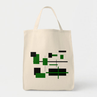 Modelo rectangular 8 bolsa tela para la compra