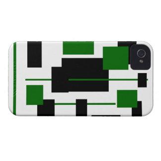 Modelo rectangular 9 Case-Mate iPhone 4 coberturas