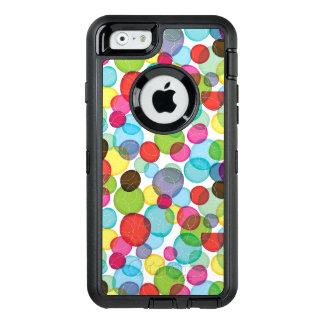 Modelo redondo 2 de los niños de las burbujas funda otterbox para iPhone 6/6s