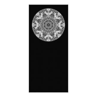 Modelo redondo decorativo blanco y negro lonas