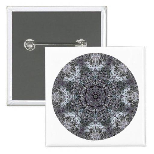 Modelo redondo decorativo elegante. Personalizado Pins