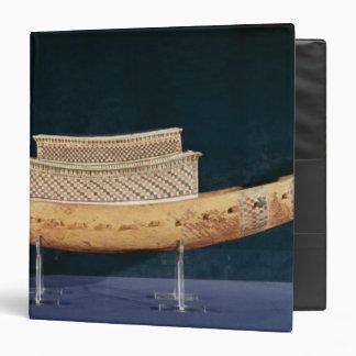 Modelo reducido de un barco de la tumba