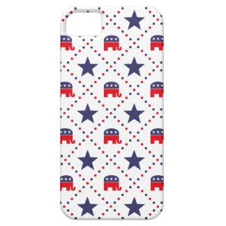 Modelo republicano del diamante iPhone 5 carcasa