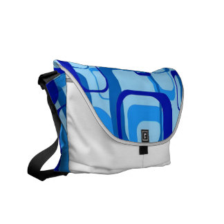 modelo retro, 1971, azul bolsas messenger