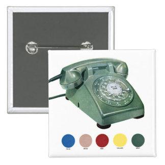 Modelo retro 500 del teléfono del teléfono del kit pin
