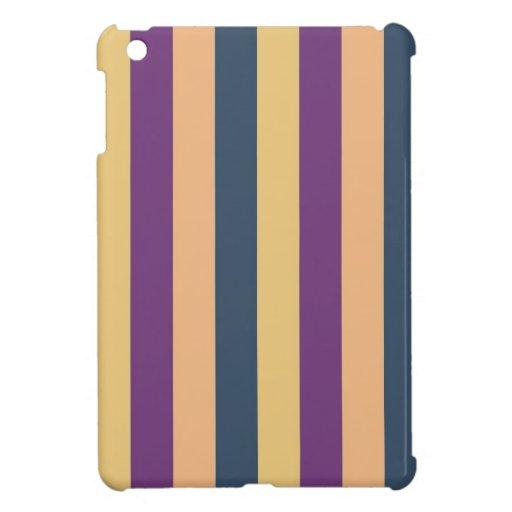 Modelo retro 9 de las rayas iPad mini funda