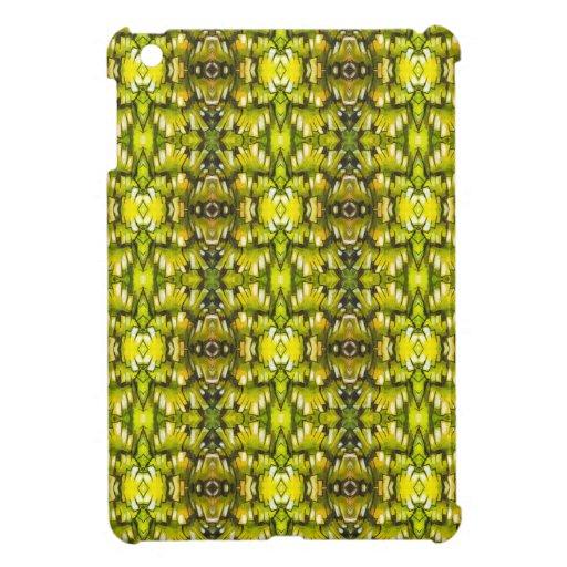 Modelo retro amarillo y verde de la mostaza del pa