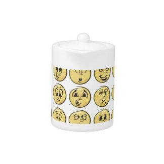 Modelo retro de Emoji del cómic