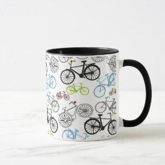 Modelo retro de la bici de la bicicleta