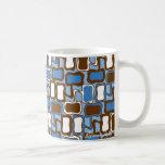 Modelo retro de la gota taza de café