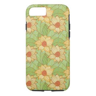 Modelo retro de la magnolia funda iPhone 7