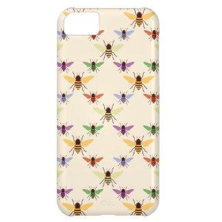 Modelo retro de la naturaleza de los abejorros de  funda para iPhone 5C
