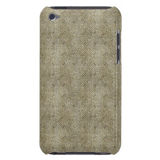 Modelo retro del beige del Grunge iPod Touch Carcasas