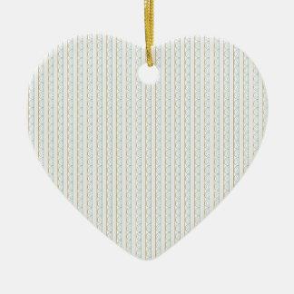 Modelo retro del boda del estilo adorno de cerámica en forma de corazón