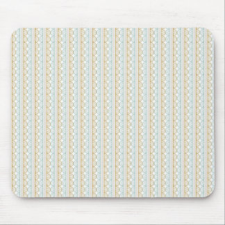 Modelo retro del boda del estilo - personalizar mouse pad