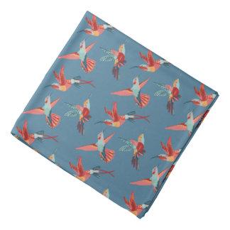 Modelo retro del colibrí bandanas