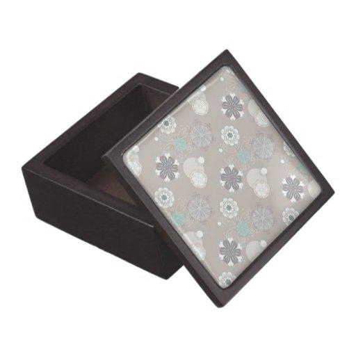 Modelo retro del personalizable del boda cajas de joyas de calidad