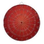 Modelo retro del rojo del tomate del vintage. tablero de dardos