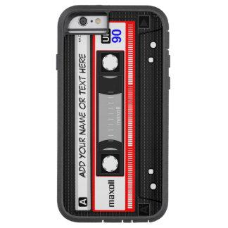 Modelo retro divertido de la cinta de casete de funda para  iPhone 6 tough xtreme