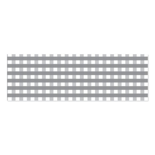Modelo retro gris del estilo - bodas tarjetas de visita mini