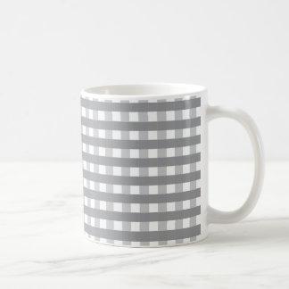 Modelo retro gris del estilo - bodas taza clásica
