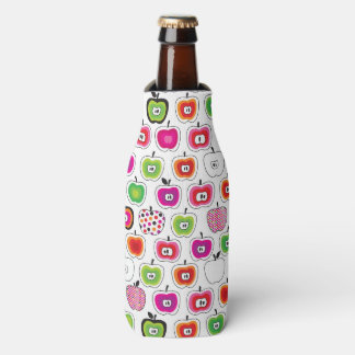 Modelo retro lindo de la manzana enfriador de botellas