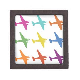 Modelo retro punky del aeroplano del vintage caja de regalo de calidad
