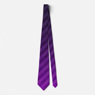 Modelo retro púrpura de la raya corbatas