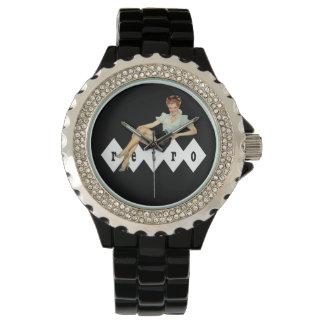 Modelo retro relojes de pulsera