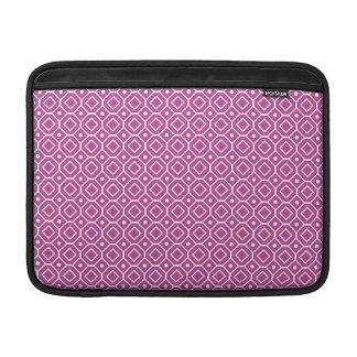 Modelo retro rosado de Macbook Fundas Macbook Air