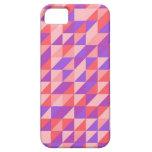 modelo retro Rosado-purpurino iPhone 5 Case-Mate Protector