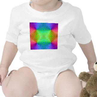 Modelo retro tridimensional maravilloso traje de bebé