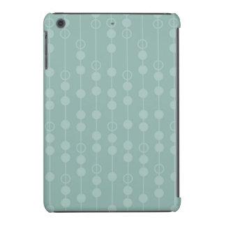 Modelo retro verde azul claro lindo funda de iPad mini