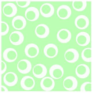 Modelo retro verde claro y blanco fotoescultura vertical