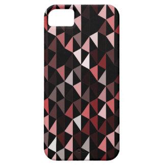 modelo rojo 02 de la pirámide funda para iPhone SE/5/5s