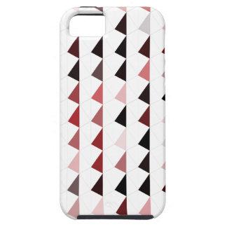 modelo rojo 04 de la pirámide funda para iPhone SE/5/5s
