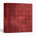 """Modelo rojo apenado vintage carpeta 1"""""""