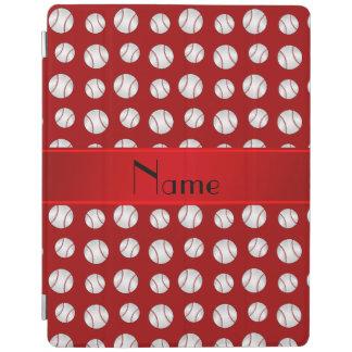 Modelo rojo conocido personalizado de los cubierta de iPad