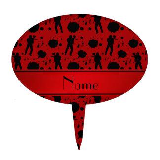 Modelo rojo conocido personalizado de Paintball Decoraciones Para Tartas