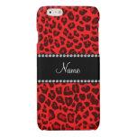 Modelo rojo conocido personalizado del leopardo