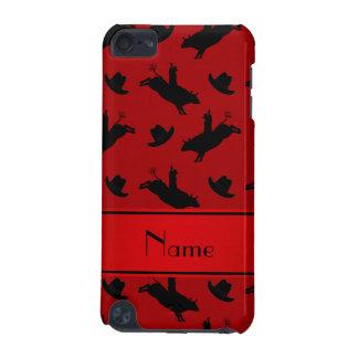 Modelo rojo conocido personalizado del montar a carcasa para iPod touch 5
