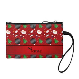 Modelo rojo conocido personalizado del navidad de