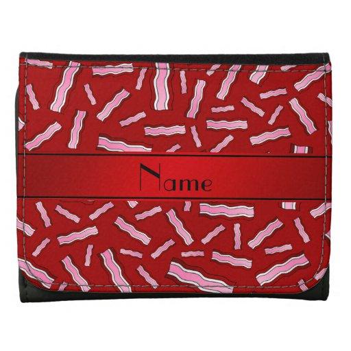 Modelo rojo conocido personalizado del tocino