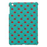 Modelo rojo de la cereza de la turquesa iPad mini carcasa