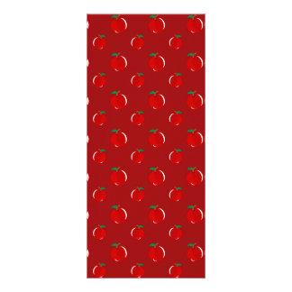 Modelo rojo de la manzana lonas
