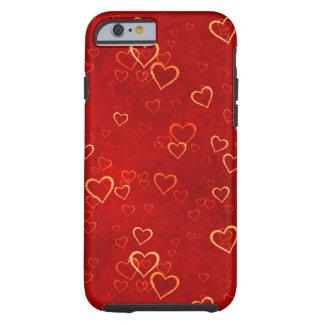 modelo rojo de los corazones