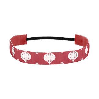 modelo rojo de oriental de las linternas del Libro Bandas De Cabello Antideslizantes
