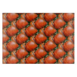 Modelo rojo del arte de la naturaleza de los tabla para cortar